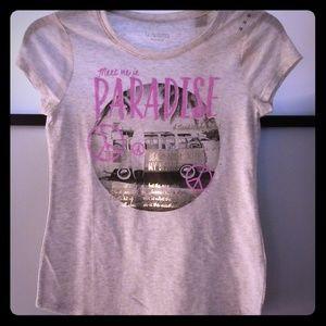 Girls New Justice T-Shirt Super Cute